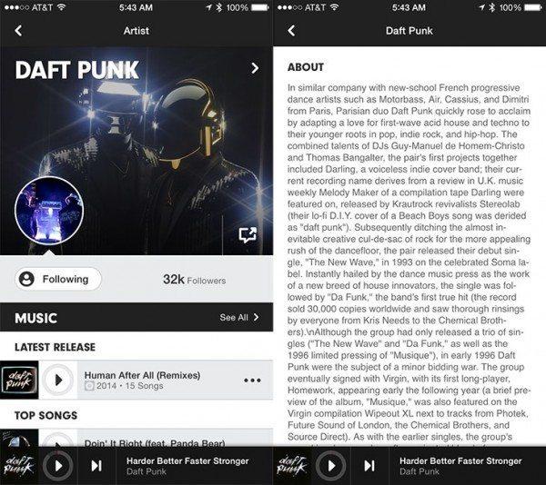 Apple Music tendría una función social para artistas