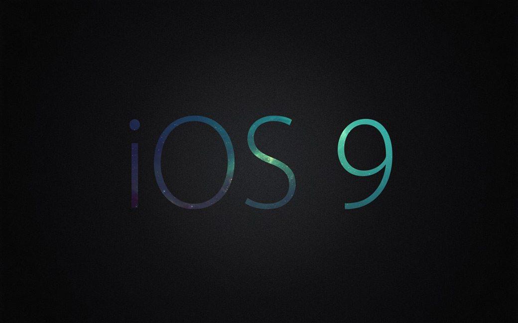 iOS 9 concepto