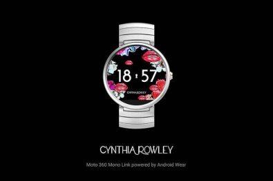 Android Wear Cynthia Rowley