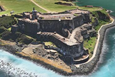 El Morro Flyover Apple Maps - San Juan Puerto Rico