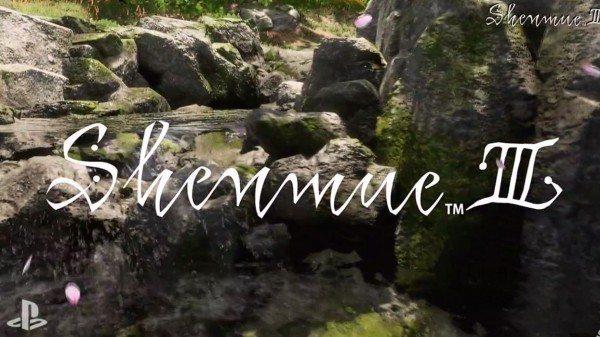 Shenmue III E3 2015