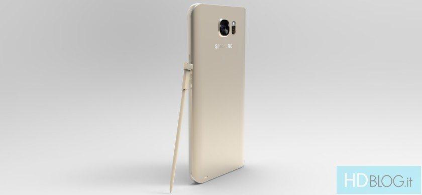 Alegado Samsung Galaxy Note 5