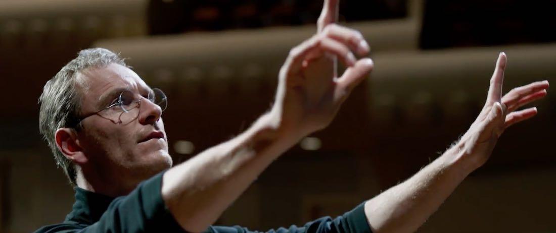 Película Steve Jobs 2015 trailer - Michael Fassbender