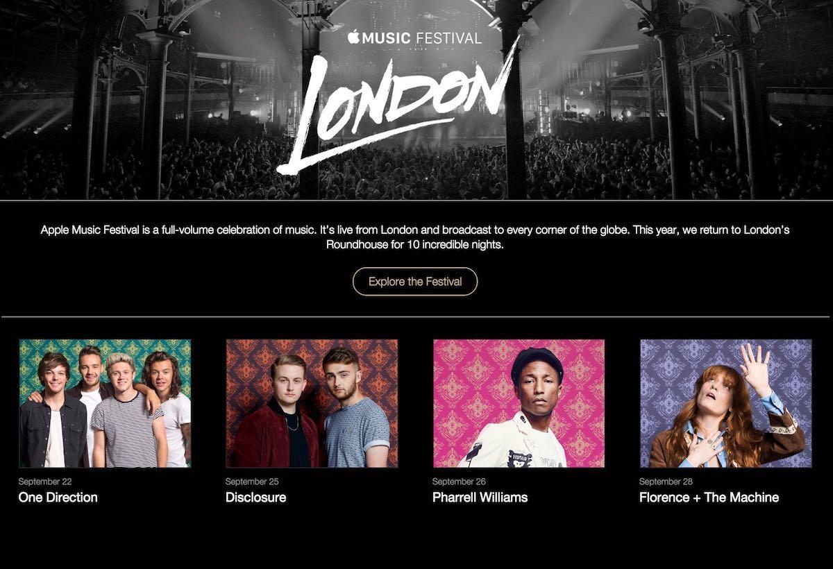 Apple Music Festival Londres
