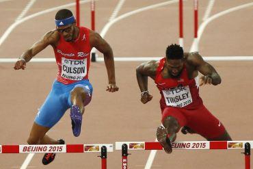 Javier Culson - Mundial de Atletismo en Beijing