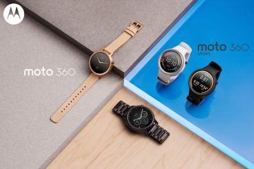 Nuevo Moto 360 y Moto 360 Sport de Motorola
