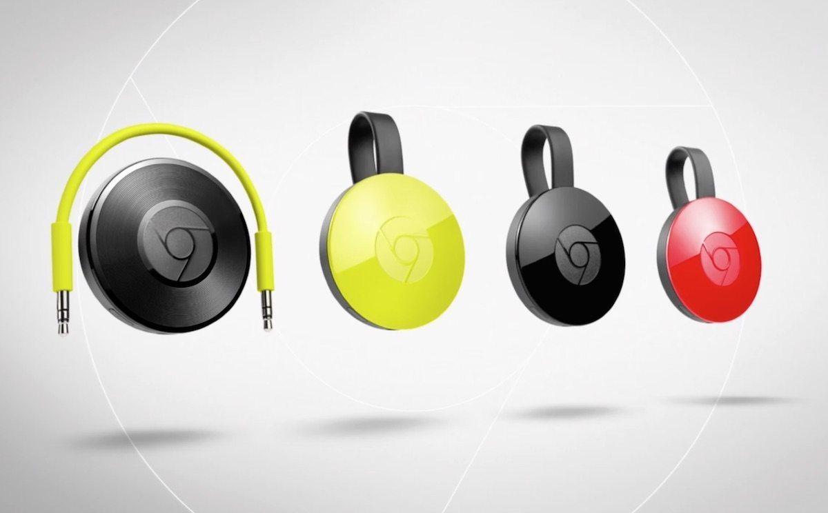 Nuevo Chromecast 2015 y Chromecast Audio