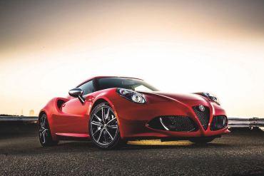 Alfa Romeo 4C Puerto Rico
