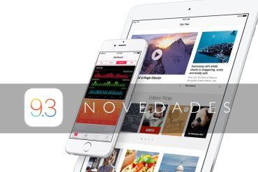 Novedades iOS 9.3