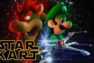 Star Kart Mashup Star Wars y Mario Kart