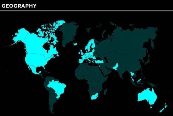 Países en los que Tidal está disponible