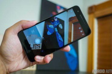 Google Goggles en la cámara de Android en Nexus
