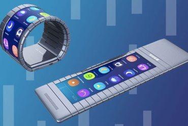 Moxi primer teléfono completamente enrrollable