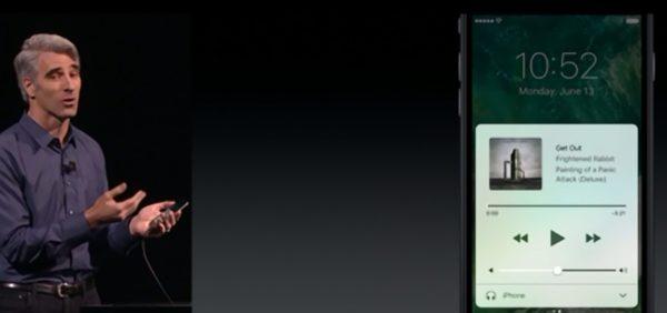 Control Center en iOS 10