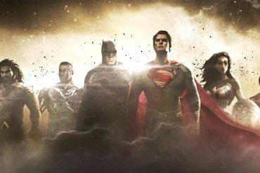 Justice League arte conceptual