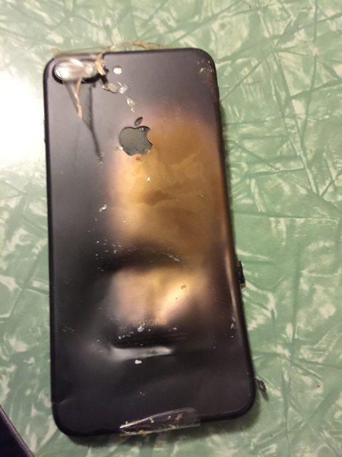 alegado iPhone 7 explota