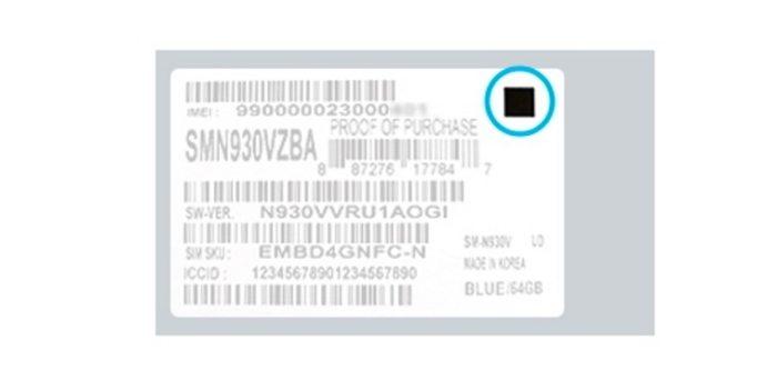 Identifica si el Galaxy Note 7 que recibiste es seguro