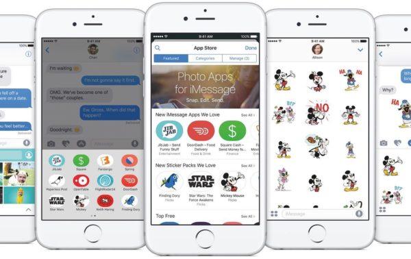 iOS 10 - Aplicaciones y Stickers para iMessage