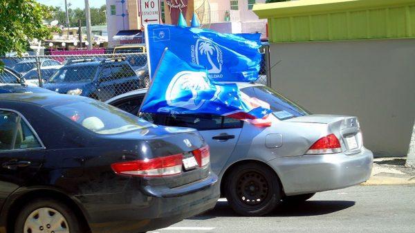 PNPs caravana - Elecciones Puerto Rico 2016