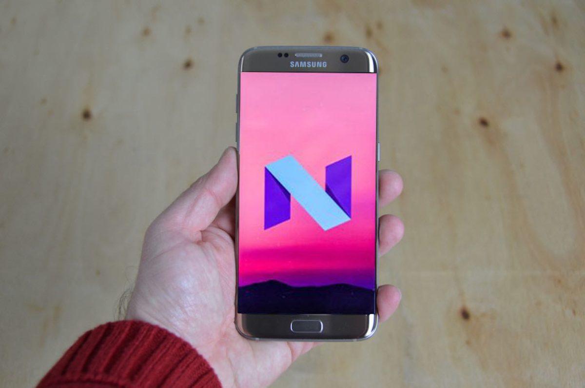 Actualización Android Nougat Galaxy S7