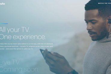 Live TV nuevo Hulu