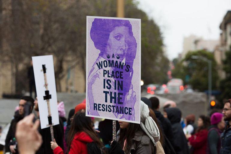 Manifestaciones Día Internacional de la Mujer
