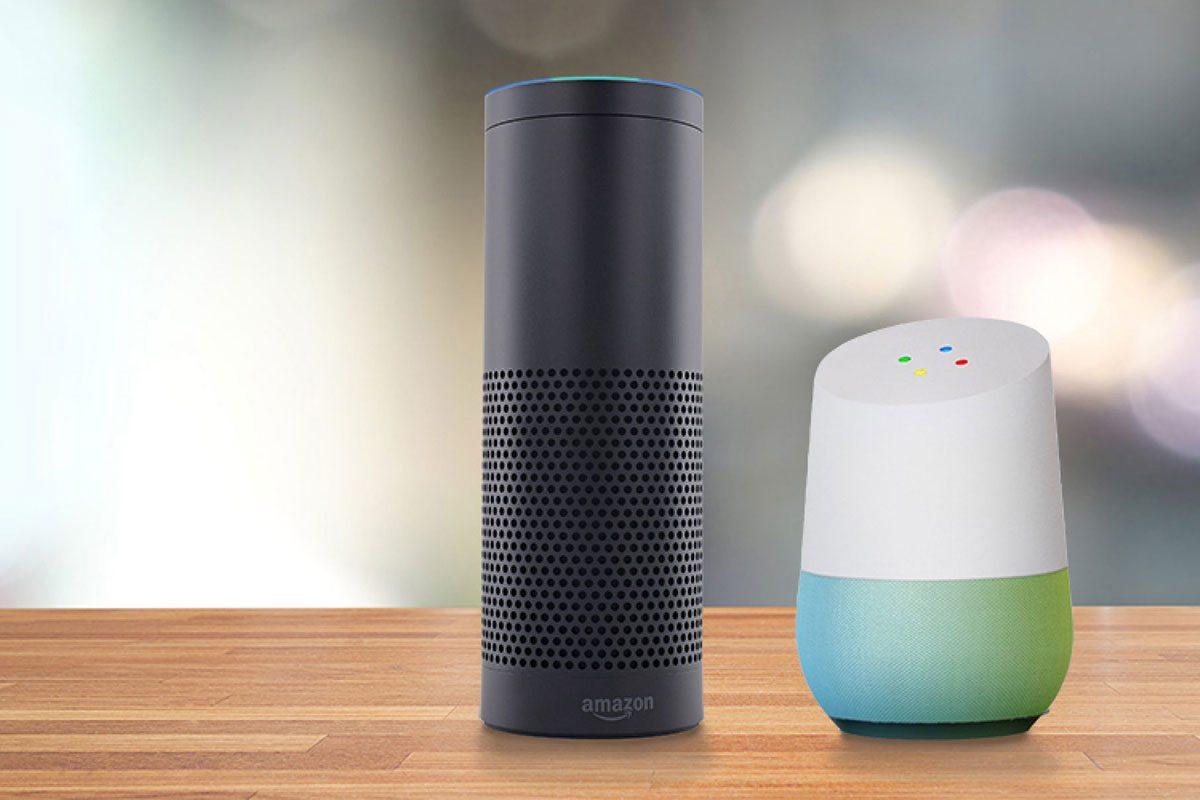 Amazon Echo y Google Home