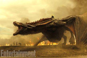 Drogon Game of Thrones Séptima Temporada