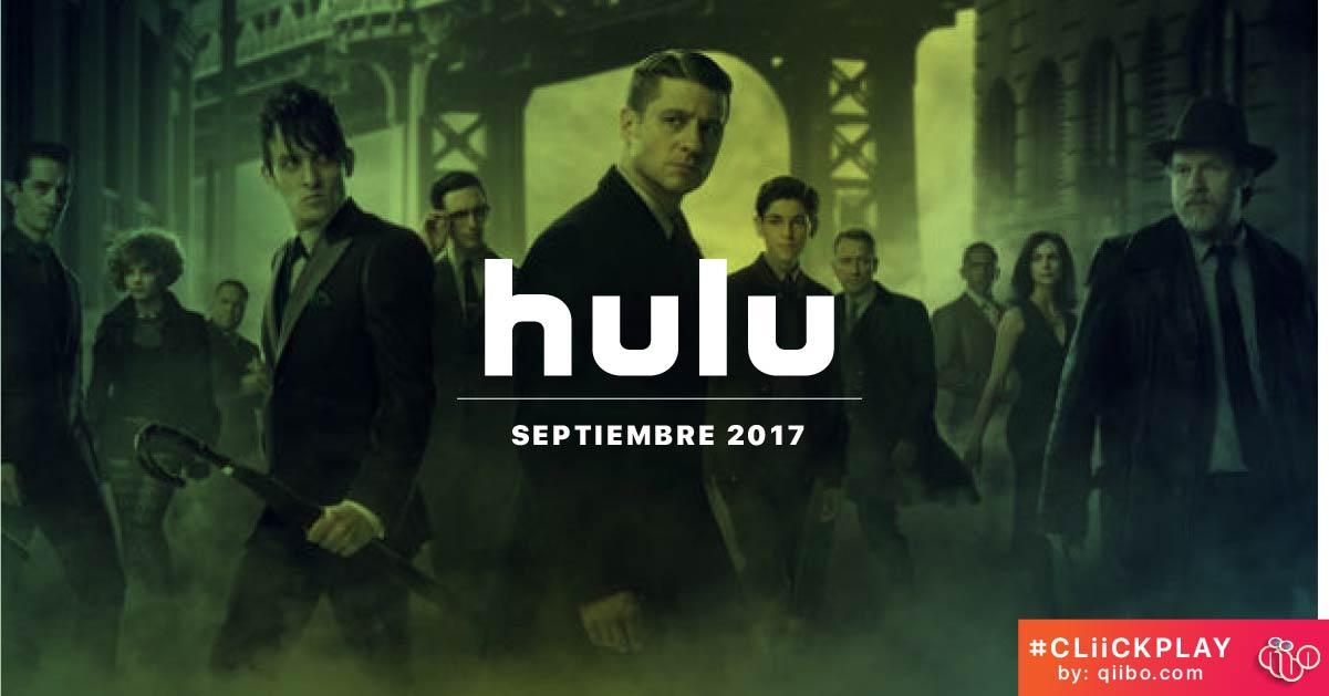 Hulu Septiembre 2017