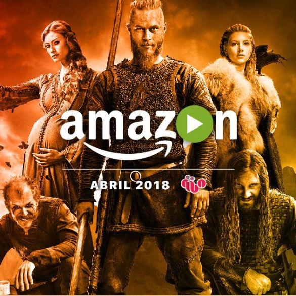 Amazon Prime Video abril 2018