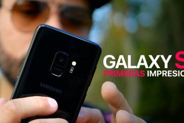 Samsung Galaxy S9 primeras impresiones