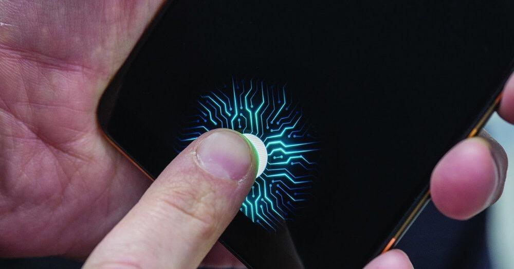 Galaxy S10 lector de huellas dactilares en pantalla.