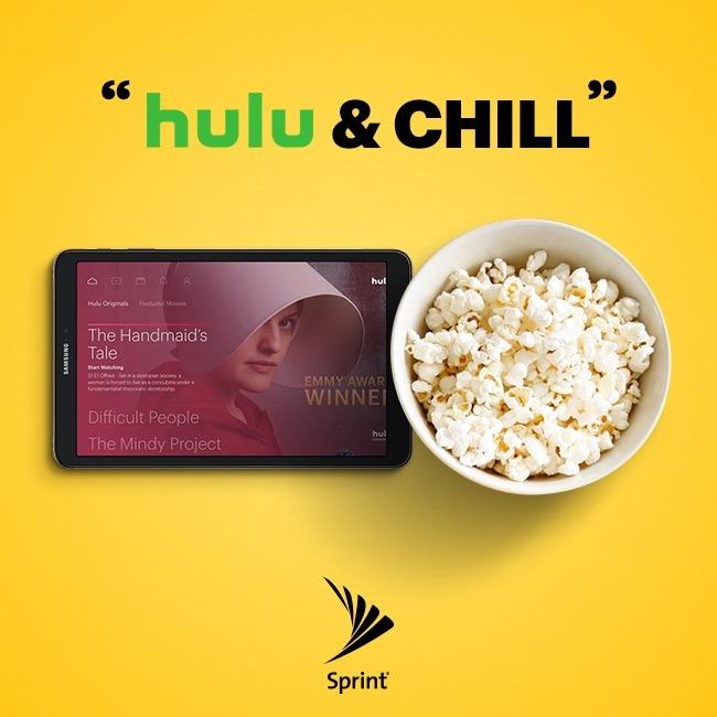 Sprint + Hulu + QiiBO