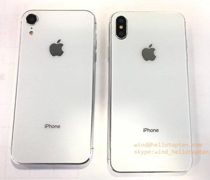 iPhone 9 y iPhone X Plus