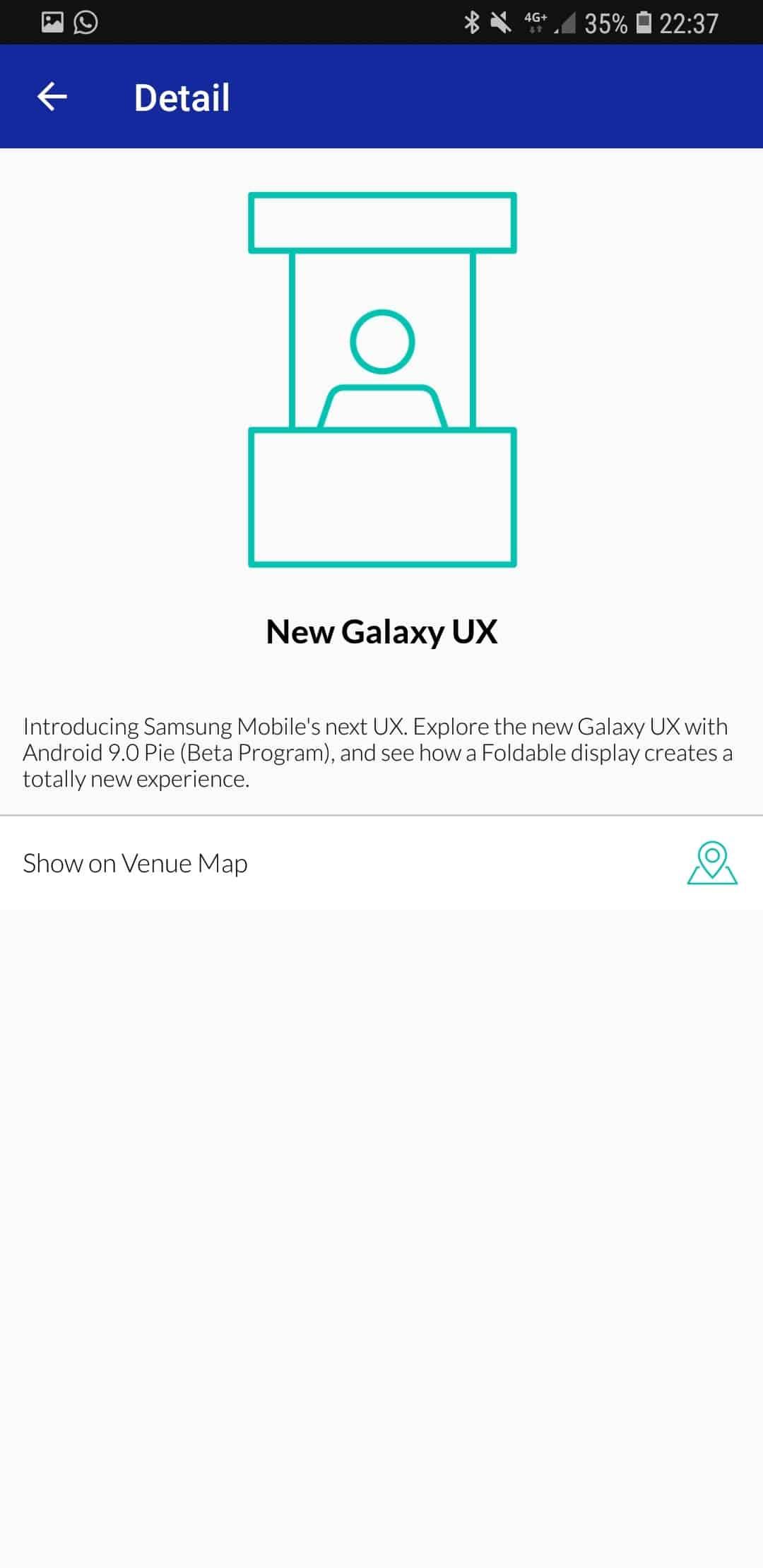 Samsung teléfono plegable - Nueva Galaxy UX