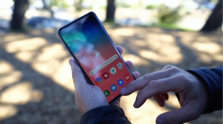 Galaxy S10 mejor pantalla en el mercado de teléfonos