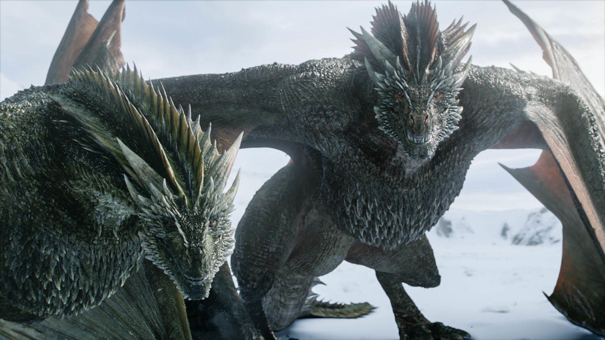 Rhaegal Drogon - Resumen Game of Thrones: Winter is Here (S0801)