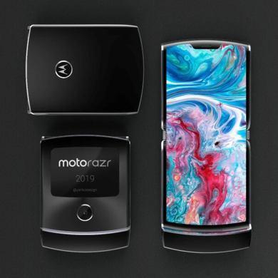 Motorola RAZR plegable concepto