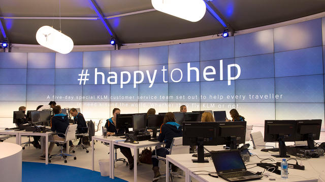 KLM Happy to help
