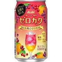 【Asahi朝日 • 零酒精氣泡酒】白葡萄味/紅梅橘子味/橘子水果味 零卡路里 | 誘惑的秘密 | QIMIAO