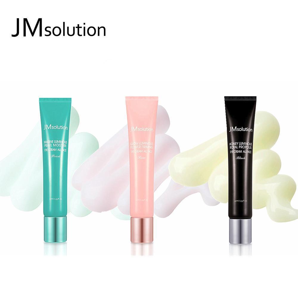 【JM Solution • 全效修復眼霜】40ML ——瑩潤蜂膠眼霜/潤光玫瑰緊致眼霜/青光海洋珍珠深層保濕眼霜 | QIMIAO
