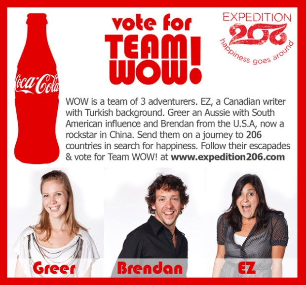 Vote for Team WOW!