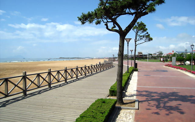 Beach Huangdao Qingdao
