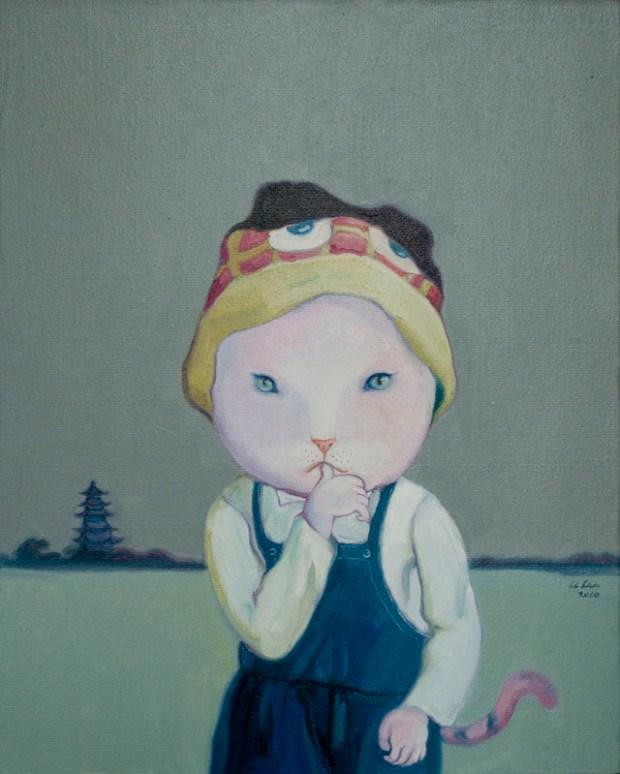 Qingdao Painter Li Lan 11