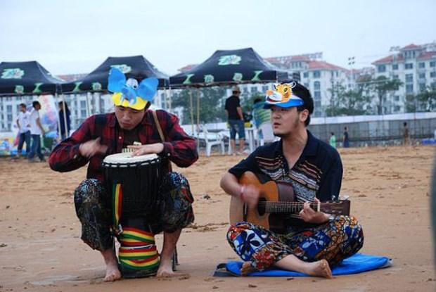 Post Golden Beach Music Festival Beach