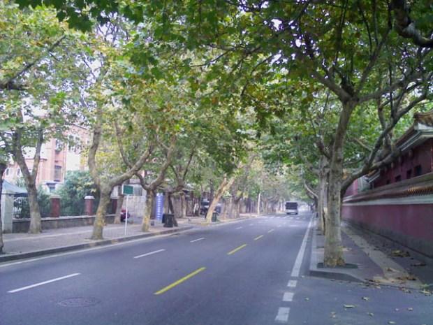 Daxue Lu in Qingdao