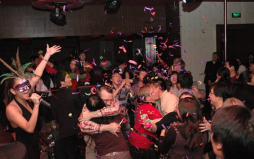 New Year's Q Bar