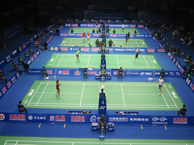 Sudirman Cup in Qingdao 4 Courts