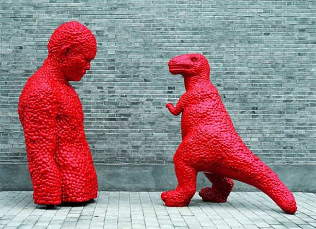 Qingdao Artist Sui Jianguo Tension Motion