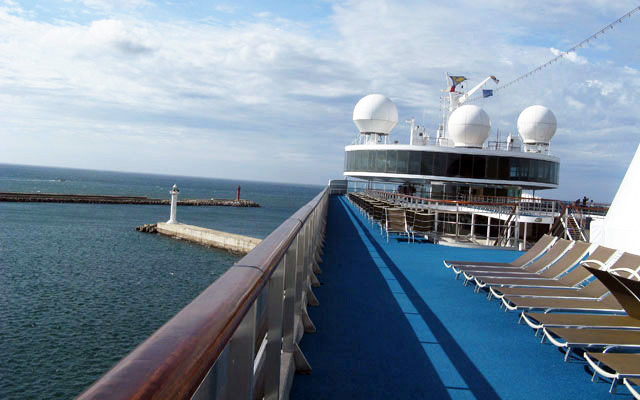 Cruise Out Of Qingdao
